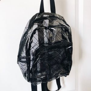 Clear small backpack